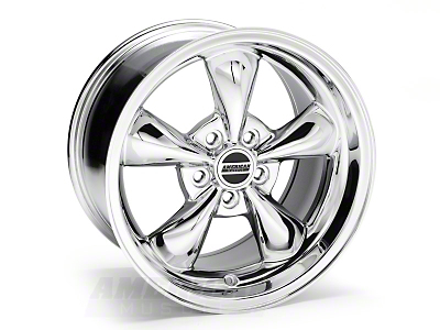 Chrome Deep Dish Bullitt Wheel - 17x10 (05-10 GT; 05-14 V6)