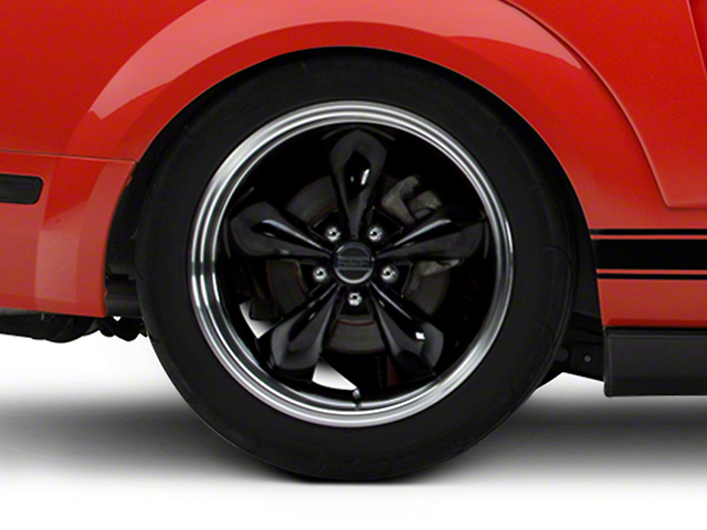 Deep Dish Bullitt Black Wheel - 19x10 (05-14 GT, V6)