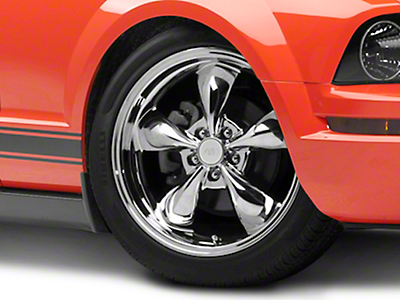 Deep Dish Bullitt Chrome Wheel - 19x8.5 (05-14 All, Excluding GT500)