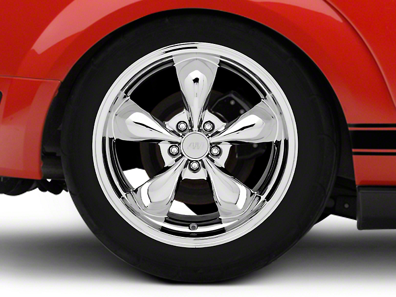 Deep Dish Bullitt Chrome Wheel - 19x10 (05-14 GT, V6)
