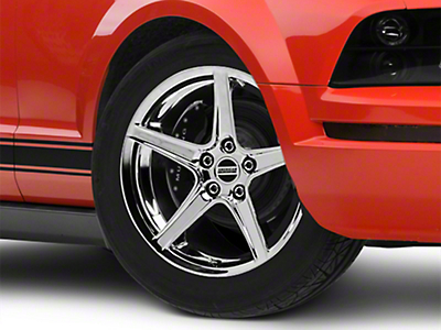 Chrome Saleen Style Wheel - 18x9 (05-14 All, Excluding GT500)