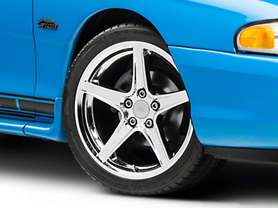 Chrome Saleen Style Wheel - 18x9 (94-04 All)