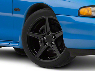 Black Saleen Style Wheel - 18x9 (94-04 All)