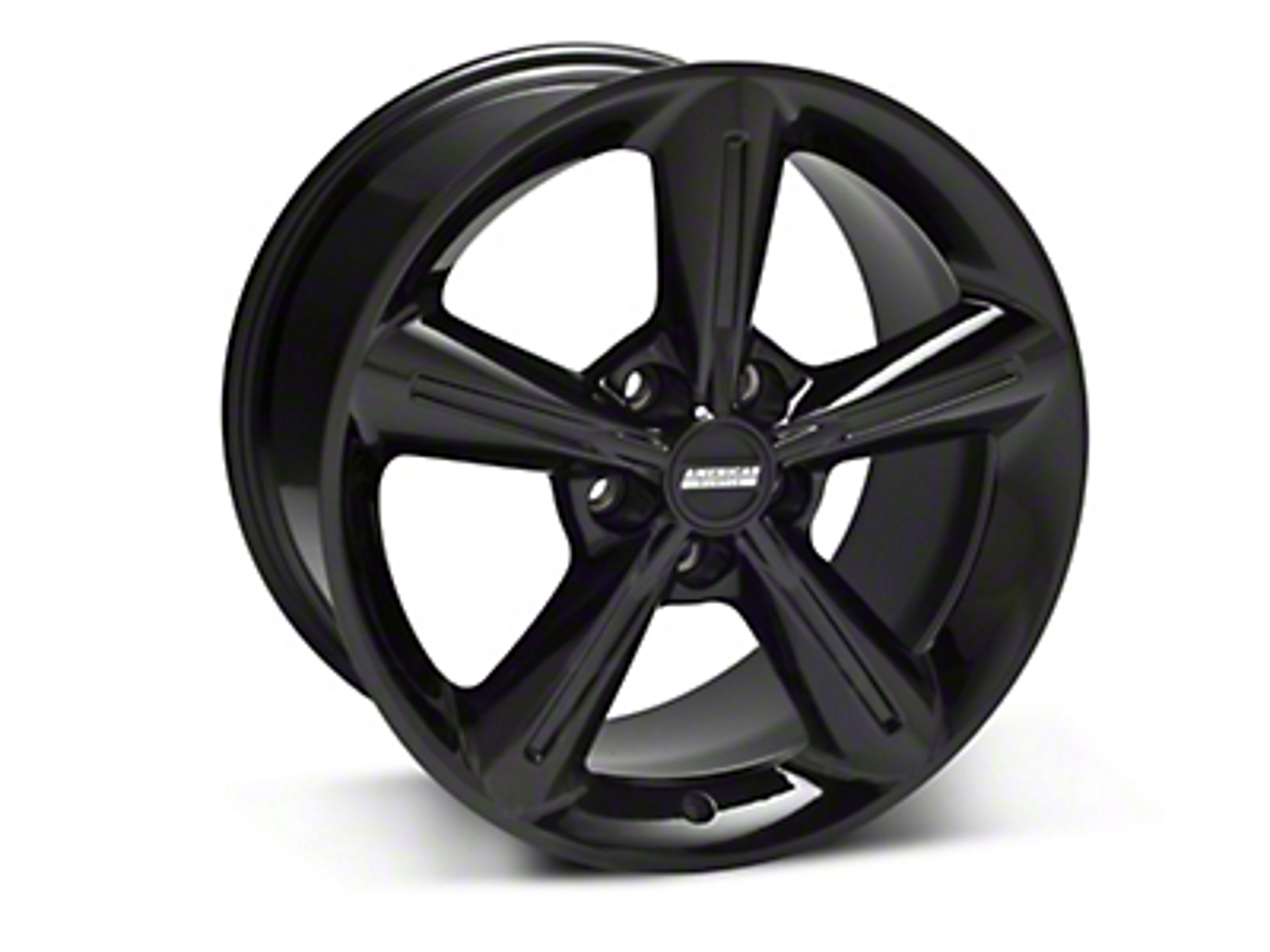 2010 OE Style Black Wheel - 18x10 (05-14 GT, V6)