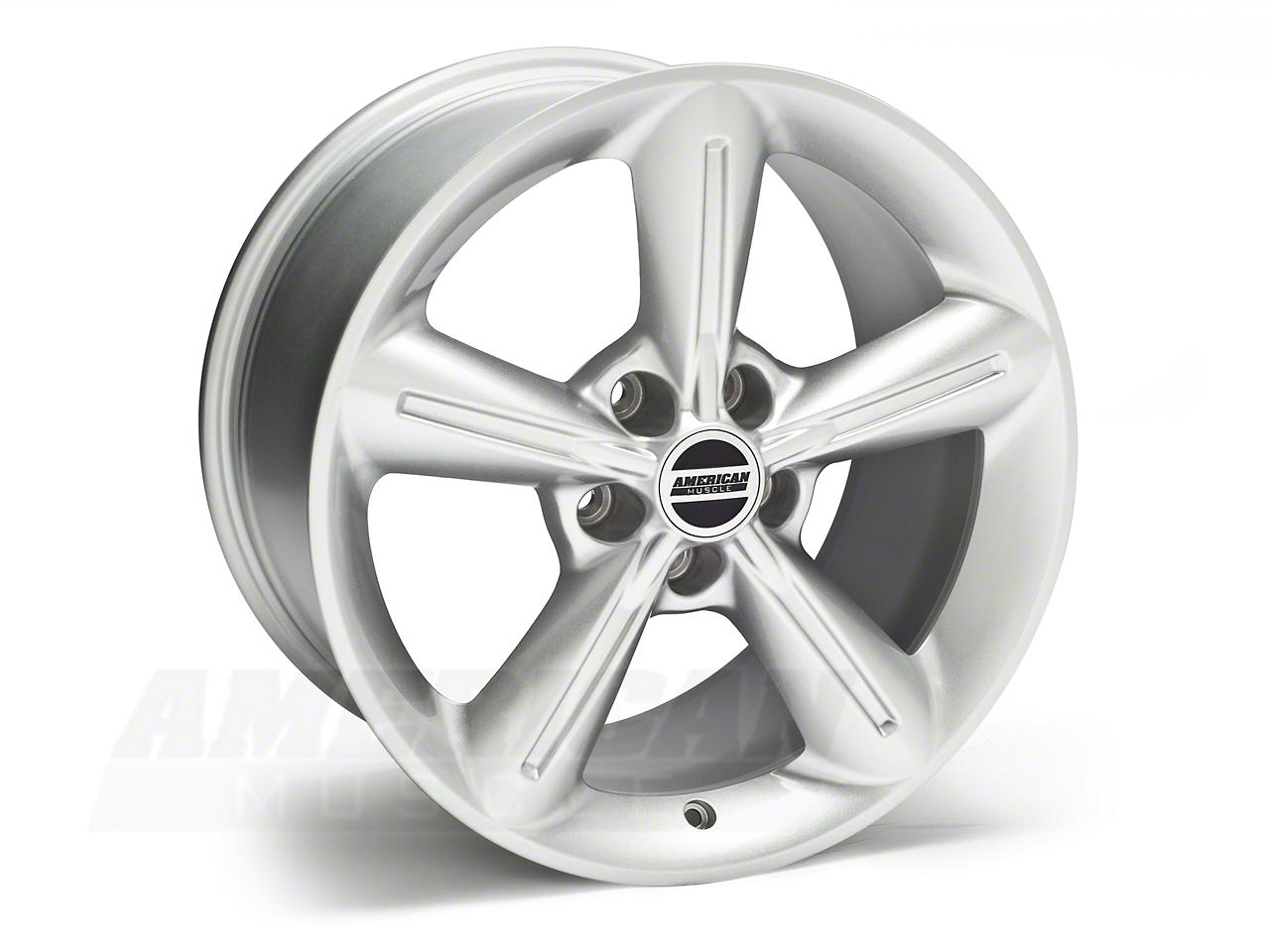 2010 OE Style Silver Wheel - 18x10 (05-14 GT, V6)