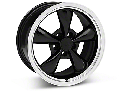Bullitt Black Wheel - 17x9 (05-14 V6; 05-10 GT, Excluding GT500)