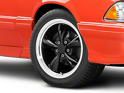 Bullitt Black Wheel - 17x9 (87-93 5 Lug Conversion)