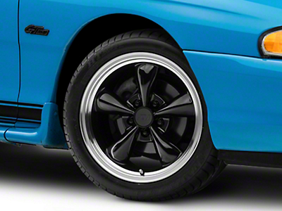Bullitt Black Wheel - 17x9 (94-04 All)