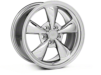 Chrome Bullitt Wheel - 17x9 (05-14 V6; 05-10 GT, Excluding GT500)