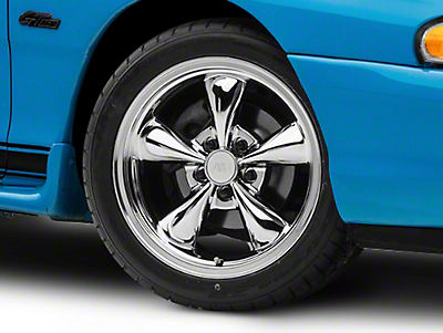 Chrome Bullitt Wheel - 17x9 (94-04 All)