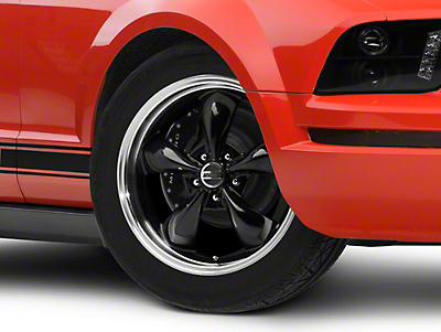 Deep Dish Bullitt Black Wheel - 18x9 (05-14 GT, V6)