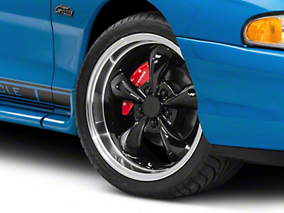 Black Deep Dish Bullitt Wheel - 18x9 (94-04 All)