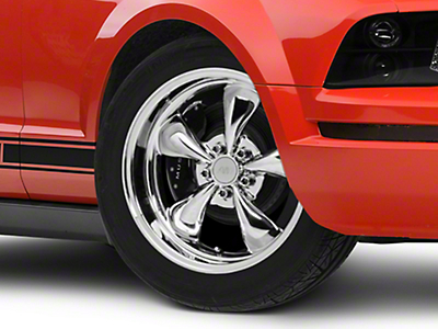 Deep Dish Bullitt Chrome Wheel - 18x9 (05-14 GT, V6)