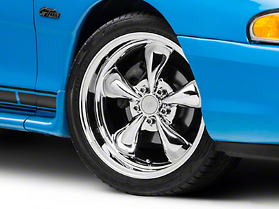 Chrome Deep Dish Bullitt Wheel - 18x9 (94-04 All)