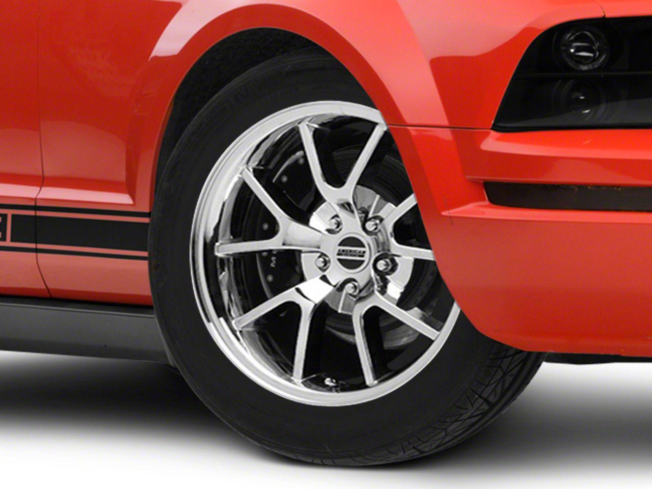 Add FR500 Style Chrome Wheel - 18x9 (05-14 All)