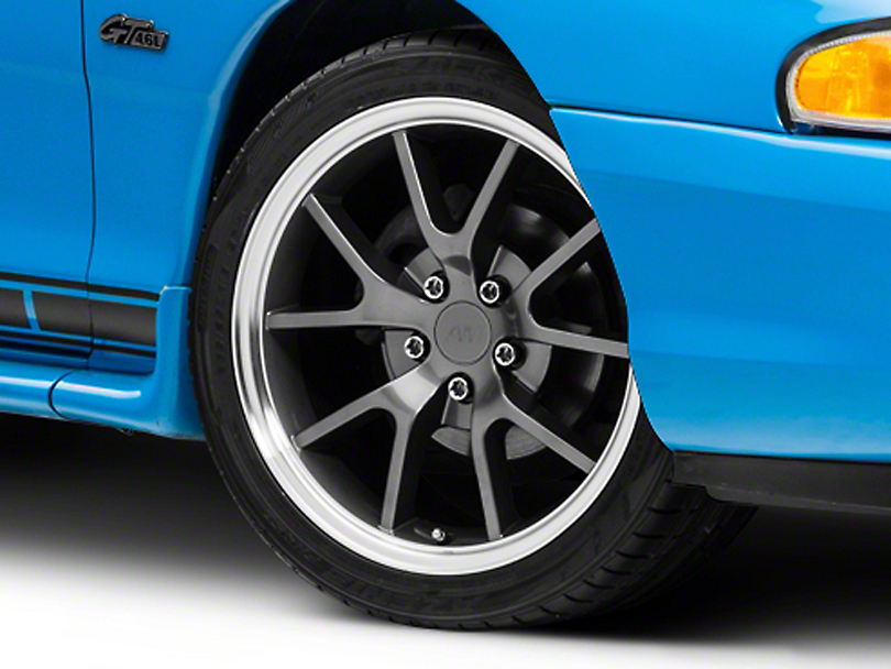 FR500 Style Anthracite Wheel - 18x9 (94-04)
