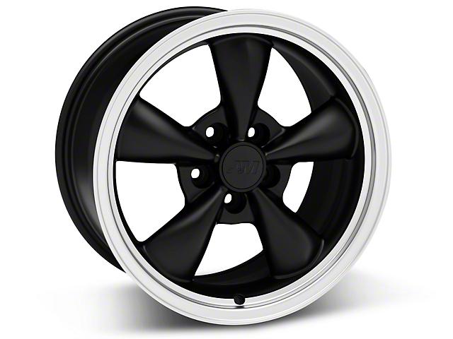 Bullitt Matte Black Wheel - 17x9 (05-14 V6; 05-10 GT)