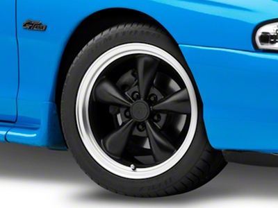 Bullitt Matte Black Wheel - 17x9 (94-04 All)