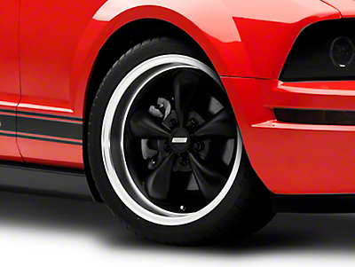 Bullitt Deep Dish Matte Black Wheel - 18x9 (05-14 All, Excluding GT500)