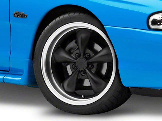Bullitt Deep Dish Matte Black Wheel - 18x9 (94-04 All)