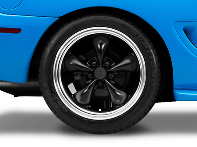 Bullitt Deep Dish Matte Black Wheel - 18x10 (94-04 All)