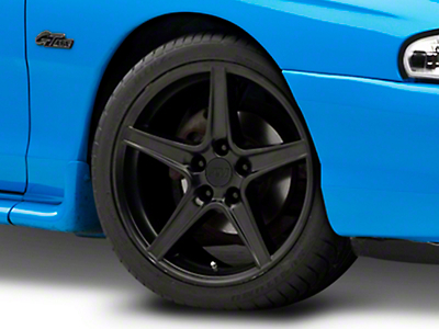 Matte Black Saleen Style Wheel - 18x9 (94-04 All)