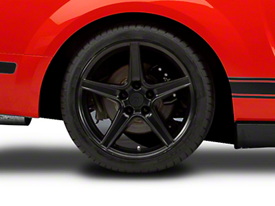 Matte Black Saleen Wheel - 18x10 (05-14 GT, V6)