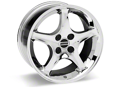 1995 Cobra R Chrome Wheel - 17x10 (87-93; Excludes 93 Cobra)