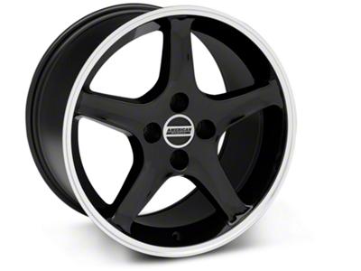 1995 Cobra R Style Black Wheel - 17x10 (87-93; Excludes 93 Cobra)