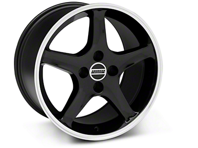 Black 1995 Style Cobra R Wheel - 17x10 (87-93; Excludes 93 Cobra)