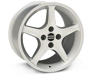 1995 Cobra R Style Silver Wheel - 17x10 (87-93; Excludes 93 Cobra)