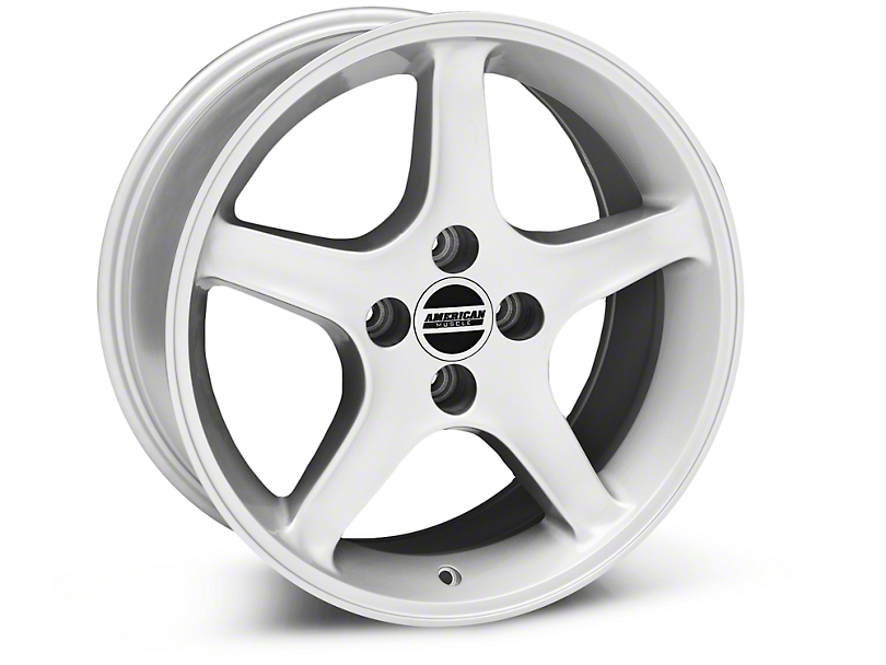 1995 Cobra R Style Silver Wheel - 17x8 (87-93; Excludes 93 Cobra)