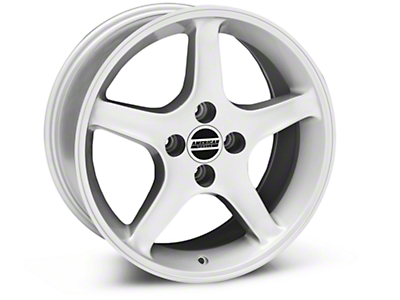 1995 Cobra R Silver Wheel - 17x8 (87-93; Excludes 93 Cobra)