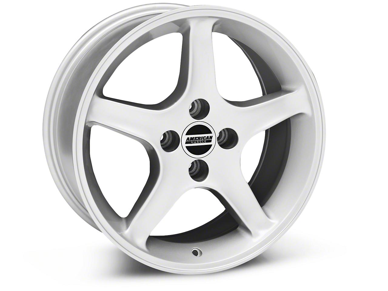 1995 Cobra R Style Silver Wheel - 17x8 (87-93; Excludes 93 Cobra)
