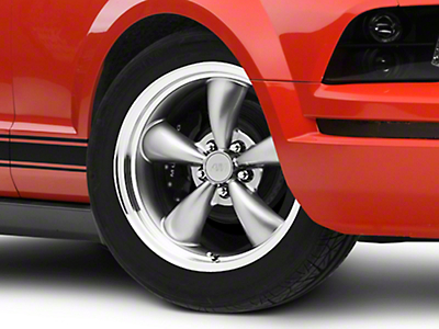 Bullitt Anthracite Wheel - 18x8 (05-14 GT, V6)