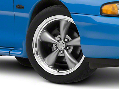 Bullitt Anthracite Wheel - 18x8 (94-04 All)