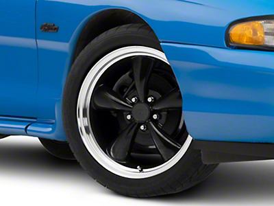Bullitt Black Wheel - 18x8 (94-04 All)