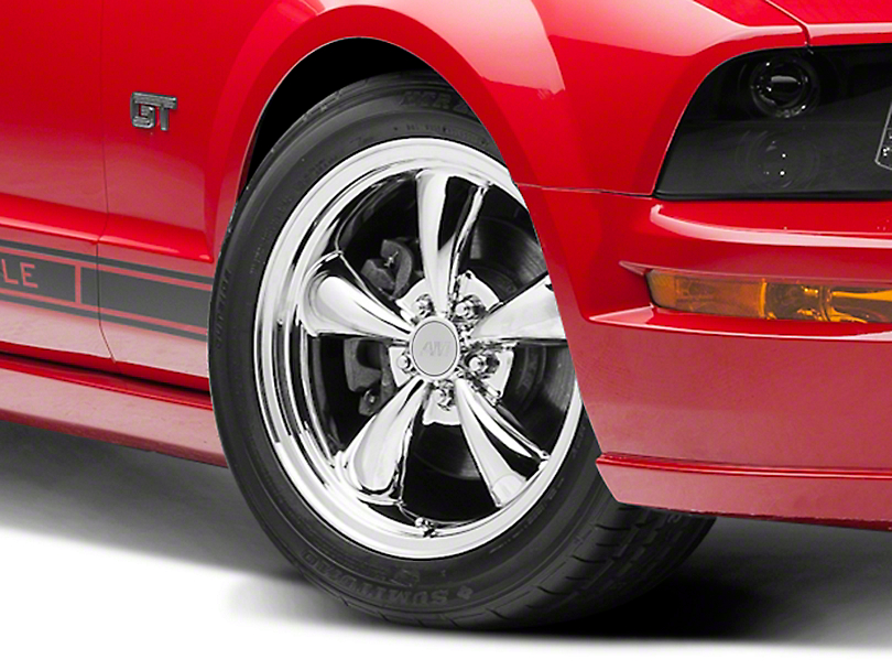 Bullitt Chrome Wheel - 18x8 (05-14 GT, V6)