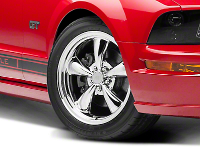 Bullitt Chrome Wheel - 18x8 (05-14 All, Excluding GT500)