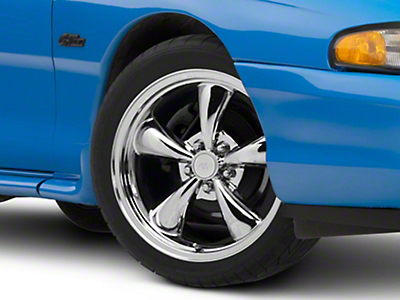 Chrome Bullitt Wheel - 18x8 (94-04 All)