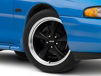 Matte Black Bullitt Wheel - 18x8 (94-04 All)
