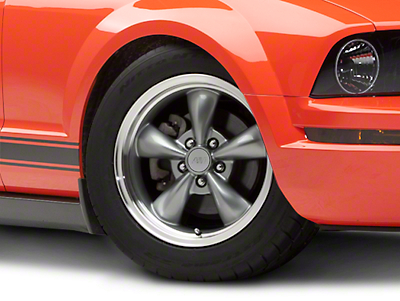 Anthracite Bullitt Wheel - 17x9 (05-14 V6; 05-10 GT, Excluding GT500)