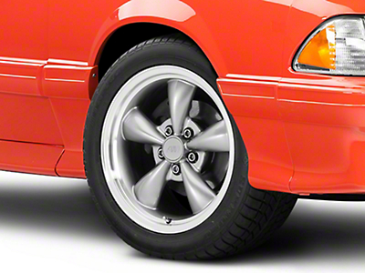 Bullitt Anthracite Wheel - 17x9 (87-93 5 Lug Conversion)