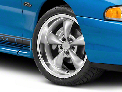 Anthracite Deep Dish Bullitt Wheel - 18x9 (94-04 All)