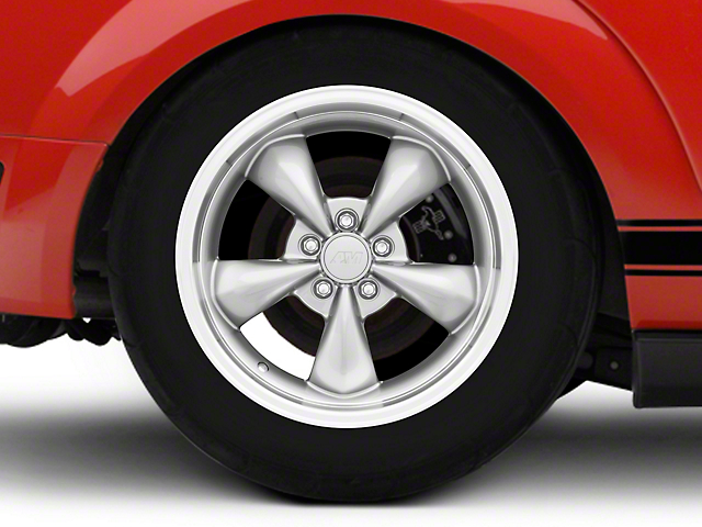 Deep Dish Bullitt Anthracite Wheel - 18x10 (05-14 GT, V6)