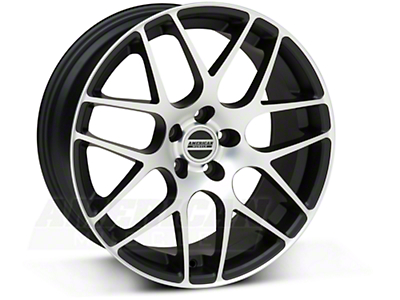AMR Matte Black Machined Wheel - 18x8 (05-14 All)