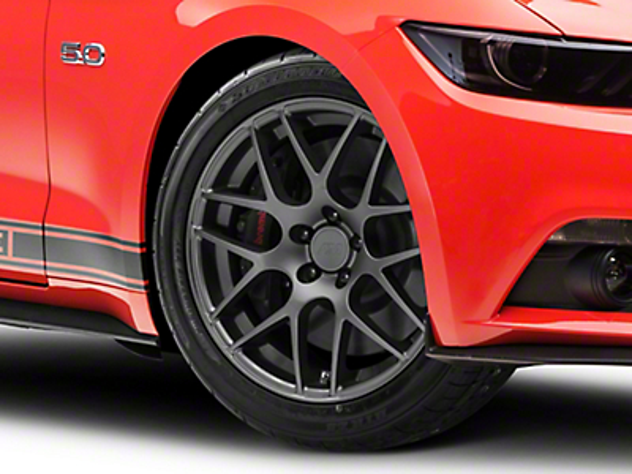 AMR Charcoal Wheel - 19x8.5 (15-17 All)