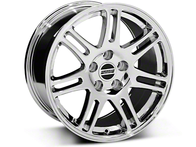 Chrome 10th Anniversary Cobra Style Wheel - 17x9 (05-14 GT, V6)