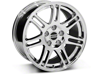 10th Anniversary Cobra Style Chrome Wheel - 17x9 (94-04 All)