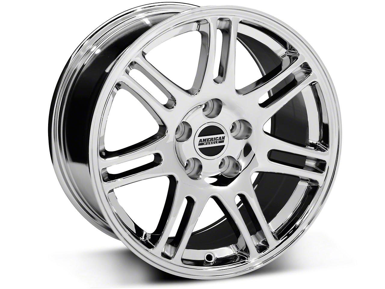 10th Anniversary Cobra Style Chrome Wheel - 17x9 (94-04 All)